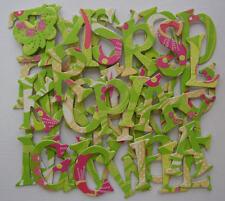 K & Company -LiME SWeeT GLiTTER- Chipboard Letters & Die Cuts