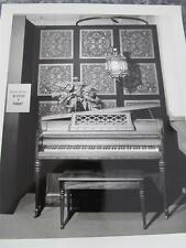 VINTAGE WURLITZER PIANO  8 X 10 GLOSSY BLACK AND WHITE CHICAGO 1960s ADVERTISE