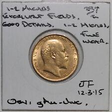 1907  Edward VII Gold Sovereign (JF3)