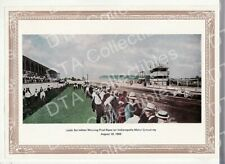 1909-INDIANAPOLIS MOTOR SPEEDWAY-1st AUTO RACE-PRINT FN