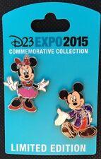 D23 Expo 2015 Disney Mickey Minnie Mouse Diamond Celebration Pin Trading New