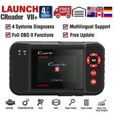 LAUNCH X431 CReader VII+ ABS SRS Engine Transmission OBD2 Car Code Reader CRP123