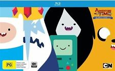 ADVENTURE TIME - SEASONS 1-5, THE COMPLETE - (6 BLU-RAY SET) NEW!!! SEALED!!!