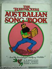 The Bushwackers Australian Song Book by Dobe Newton Jan Wositzky pb A99