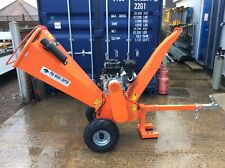 FORREST MASTER FM13WC 13HP WOOD CHIPPER NEW AND ASSEMBLED