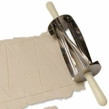 Ateco Stainless Steel Kitchen Automatic Croissant Roll Roller Dough Cutter