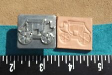 """Leather Tools/ * Vintage * Craftool Usa 2D/3D 1"""" Stamp * #8227 Carriage"""