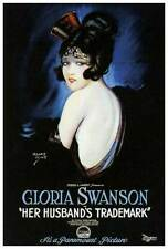 HER HUSBAND'S TRADEMARK Movie POSTER 27x40 Gloria Swanson Richard Wayne Stuart