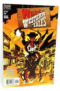 Weird Western Tales #1 of 4 Dave Gibbons Greg Rucka 2001 Comic DC Comics VF