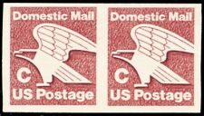 "1947a, Mint VF NH ""C"" 20¢ RARE Imperforate Coil Pair ERROR - Stuart Katz"