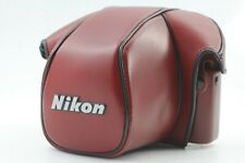 【Near Mint】Nikon CF-22 Film Camera Leather Case for F3 HP from JAPAN #554A