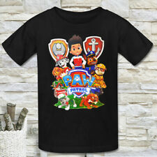 PAW PATROL RYDER MARSHAL CHASE SKYE RUBBLE KIDS BOY'S SHORT SLEEVE T-SHIRT