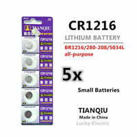 5pcs TQ CR1216 3v Battery Cr-1216 Coin Cell 1216 watch battery Melbourne