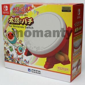 Nintendo Switch HORI TAIKO NO TATSUJIN Drum & BACHI Set for Switch