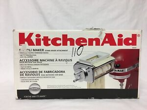 NEW in Opened Box Kitchenaid Krav Ravioli Maker Attachment