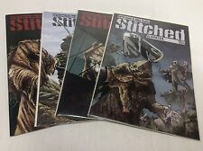 STITCHED #1-4 (AVATAR/Garth Ennis/061527) COMIC BOOK SET LOT OF 4