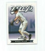 DEREK JETER (New York Yankees) 2003 UPPER DECK MVP CARD #135