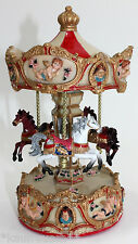 Pferdekarussell Spieluhr Melodie Rigoletto Pferd Karussell Jahrmarkt Kirmes