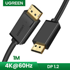 UGREEN DisplayPort v1.2 Audio Video DP Cable 4K@60Hz for PC Monitor Graphic Card