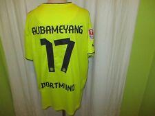 "Borussia Dortmund Puma beau maillot 2013/14 ""Evonik"" + Nº 17 Aubameyang taille XXXL"