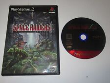 SPACE RAIDERS - PlayStation 2 PS2 Japan Import