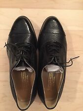 NEW Johnston & Murphy Men's Bucci Wingtip   - sz 9 W (NWB)  Made in Italy