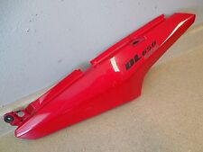 06 Suzuki V Strom DL650 REAR TAIL RIGHT FAIRING / SIDE COVER RED COWL