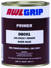 AwlGrip Boat Marine 545 Epoxy White Primer Base 1 Quart Gives Ideal Undercoat