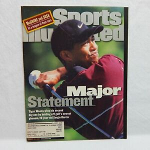 SPORTS ILLUSTRATED AUGUST 23, 1999 ON THE COVER TIGER WOOD