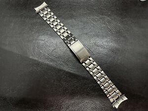 Bracelet For Seiko 6139-6012 6139-6010 6139-6015 6139-6017 Band Rail Road SS