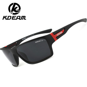 KDEAM Sports Polarized Sunglasses For Men UV400 Outdoor Driving Cycling Glasses