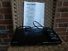 SonyBDP-S390 Blu-Ray DVD Player with Remote WiFi/HDMI/Streaming Apps preowned