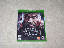 LORDS OF THE FALLEN LIMITED EDITION...XBOX ONE...***SEALED***BRAND NEW***!!!!!!!