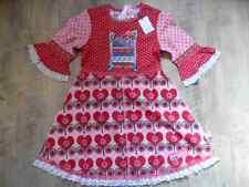 MIM-PI wunderschönes Kleid rosa rot Sweet Pea Gr. 116 NEU ST817