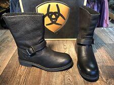 Men's Black Ariat Stonewall Harness Boot.