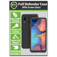 Samsung A20e Case Full Body Case Cover with Tempered Glass Samsung Galaxy A20e