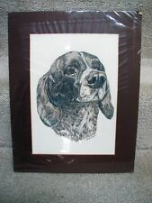 German Shorthaired Pointer Painted by National Recognized animal portrait artist