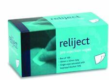 Reliject 70% Isopropyl Alcohol Wipes / Swabs, 100pk (FREE UK P&P)