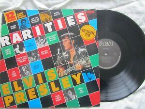 ELVIS PRESLEY - 12 SONGS -  RARITIES  RCA PL43598 - EX / EX VINYL LP