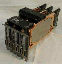 3 Nvidia GTX 780 Tis with Aquacomputer Waterblocks + SLI bridge