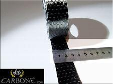 (100 METRES x 25mm) Sangle de CARBONE Type UD (330g/m²)