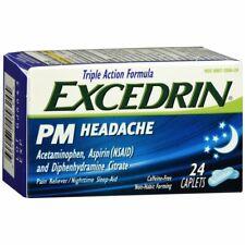 Excedrin PM Headache Caplets - 24 CP