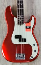 Fender American Professional Precision Bass, Candy Apple Red, Rosewood +Cable