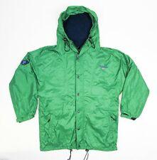 Ralph Lauren Polo Sport Jacket M Vintage Raincoat 90s green parka anorak