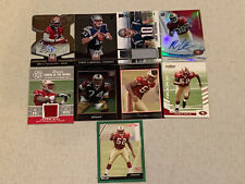 San Franciso 49ers 9 Football Card Lot Rookie Jersey Auto Garoppolo