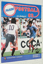 ALBUM PANINI FOOTBALL 83 1982-1983 CHAMPIONNAT FRANCE QUASI VIERGE 4 IMAGES