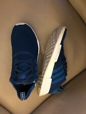 Scarpe Da Ginnastica Corsa Adidas NMD Taglia 10.5 UK Blu in condizioni eccellenti