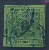 Württemberg 3 Pracht gestempelt 1851 Ziffern in Raute (8162218