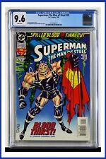 Superman The Man Of Steel #29 CGC Graded 9.6 DC January 1994 Comic Book