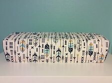 Cricut Explore/ Air/ Air 2/ One Dust Cover Yellow/Navy Arrows w/ Navy Piping